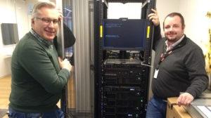 Bay Magnar Engebråten og Håkon Viker hos Lenovo Data Center Group kan hjelpe deg med GDPR-utfordringer.