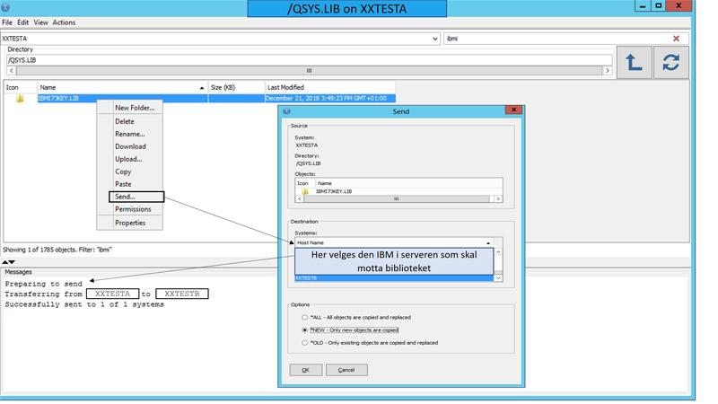 IBM i overføring av filer | Common Norge